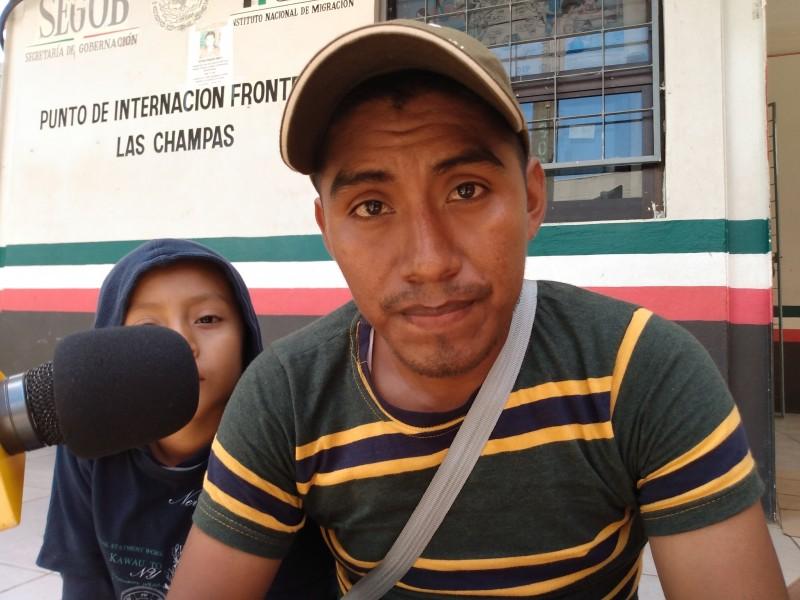 Centroamericanos ven en México mejores oportunidades