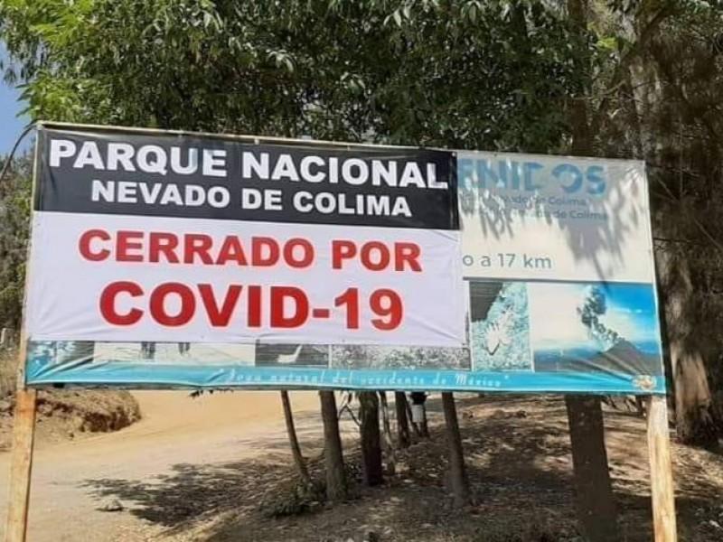 Cerrado el Parque Nevado Colima; ni suban, recomienda PC Jalisco