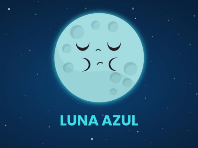 Cerrará octubre con Luna Azul