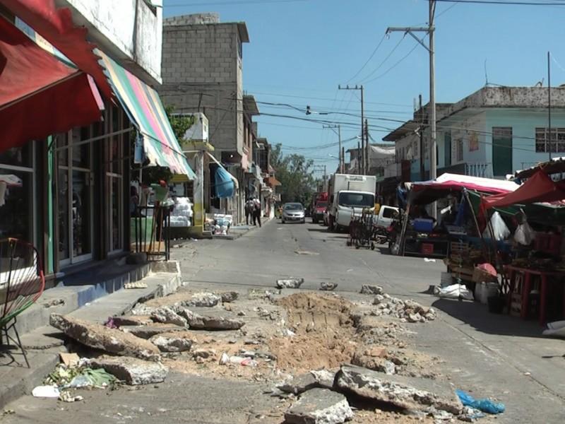 Cerrarán calles por mantenimiento a drenajes en SC