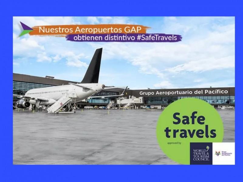 Certifican aeropuerto de Morelia como lugar seguro ante Covid-19
