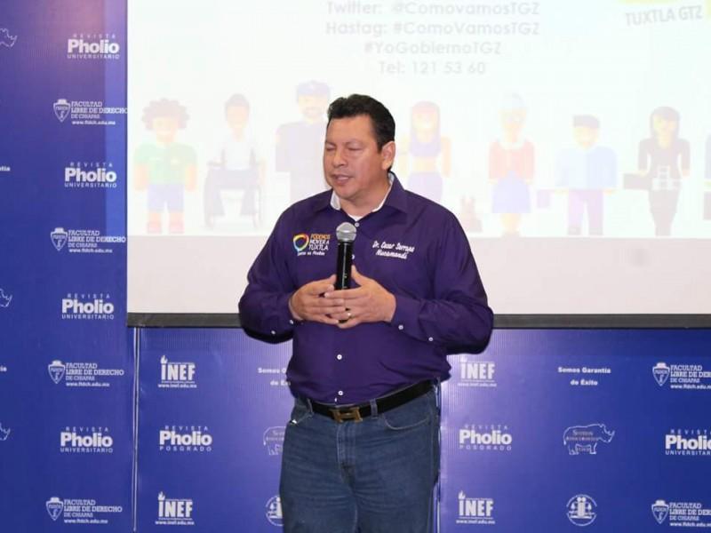 César Serrano se reunirá con cámaras empresariales