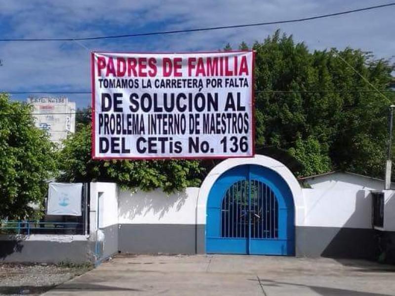 CETIS de Frontera Comalapa en paro.