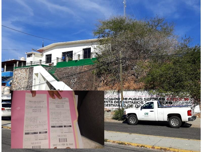 CFE desatiende denuncia por cobro indebido en Salina Cruz
