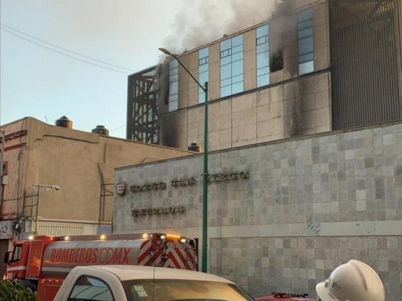 CFE interrumpió suministro eléctrico del Metro por incendio en subestación