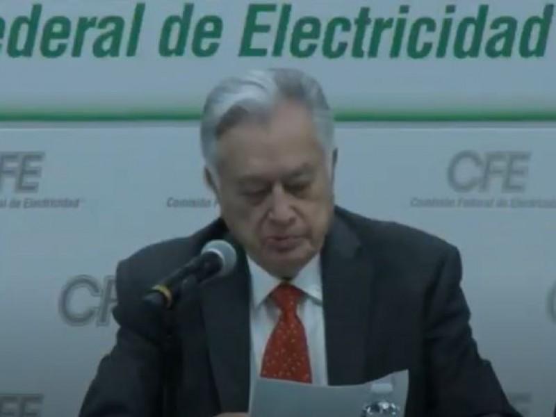 CFE ofrecerá detalles sobre el mega-apagón de este lunes