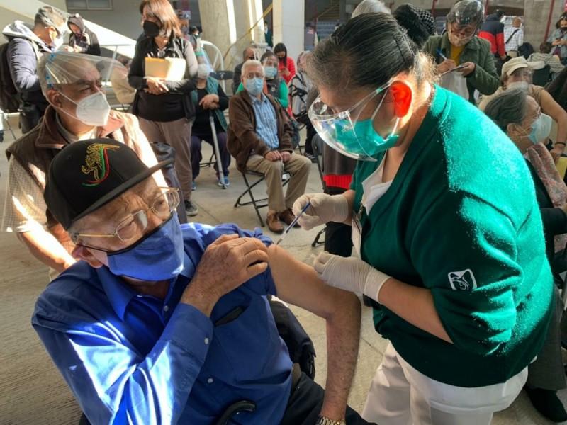 Chalco: Más de 24 mil adultos mayores vacunados contra Covid