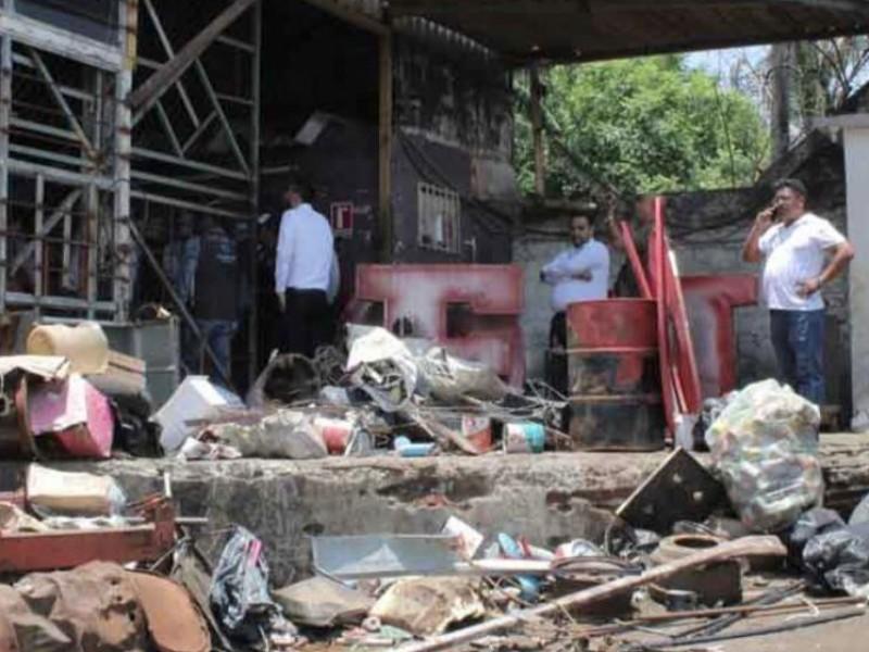 Chatarreras espacios de contaminación en Veracruz