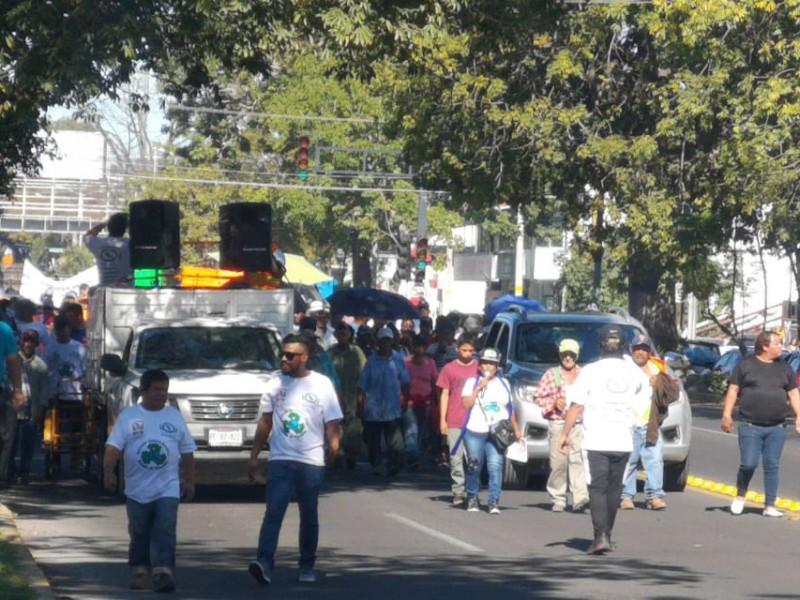 Chaterreros de Nayarit se suman a protesta nacional