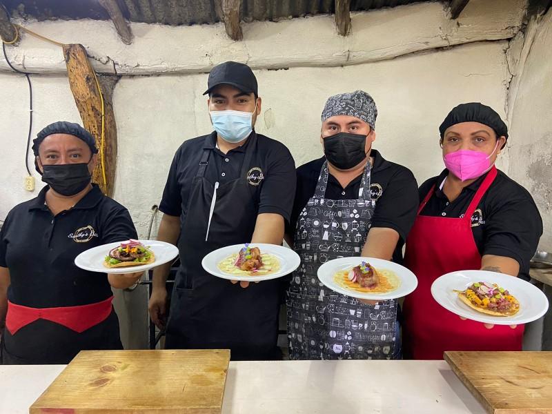 Chef istmeño moderniza con técnicas culinarias la cocina tradicional