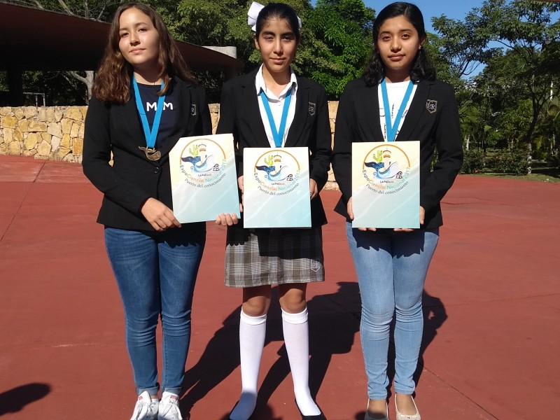 Chiapanecas representarán a México en Expo Ciencia