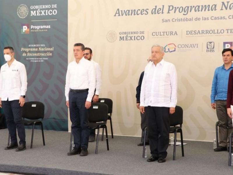 Chiapas avanza en el PNR: Escandón Cadenas