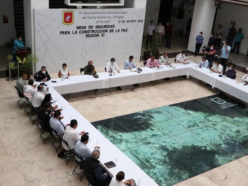 Chiapas con histórico descenso en incidencia delictiva