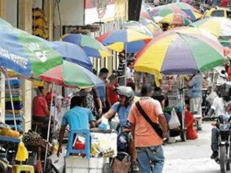 Chiapas con la mayor caída en informalidad