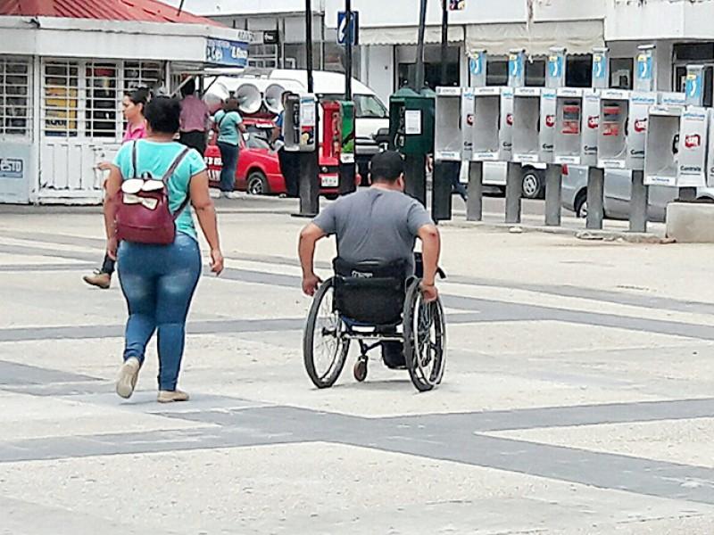 Chiapas con menos casos de personas con discapacidad