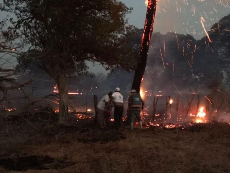 Chiapas, retorna al quinto lugar con más incendios