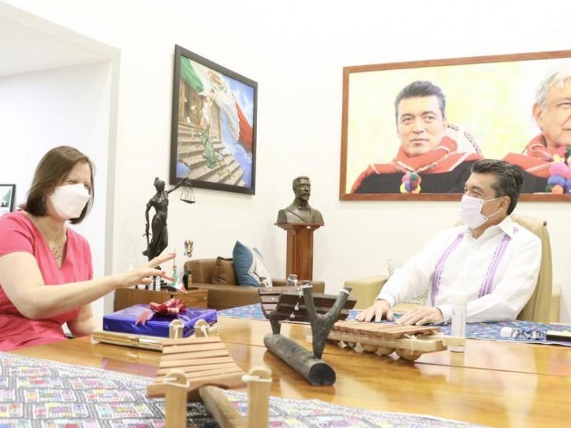 Chiapas estrecha lazos con Serbia