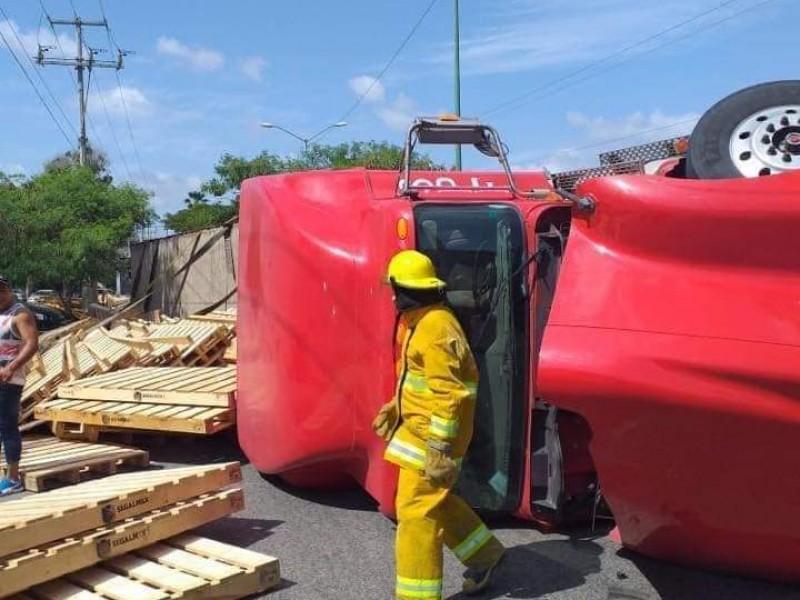 Chiapas no respeta horarios de circulación de camiones
