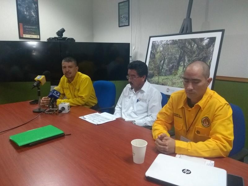 Chiapas ocupa el 12o lugar en incendios fortales