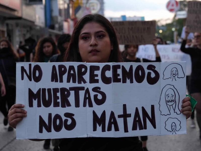 Chiapas registra cinco feminicidios en diciembre