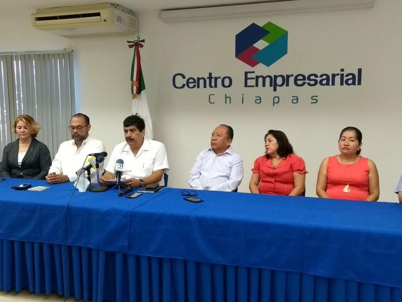 Chiapas sin crecimiento en 7 trimestres