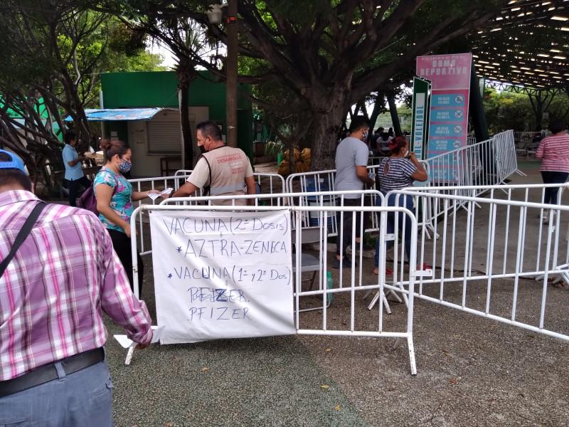 Chiapas nuevamente entre los estados con rezago en vacunación