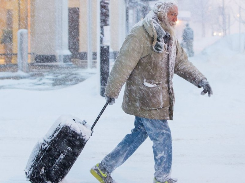 Chicago se congela con temperaturas de hasta -55°