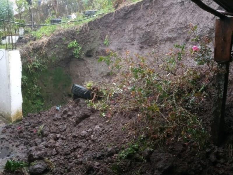 Chiconquiaco fue declarado zona de desastre natural