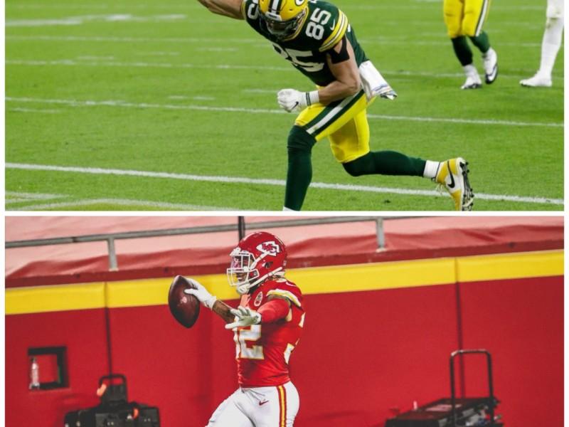 Chiefs y Packers se mantienen invictos