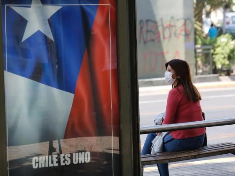 Chile reporta mil 773 casos Covid-19, acumulando casi 500 mil