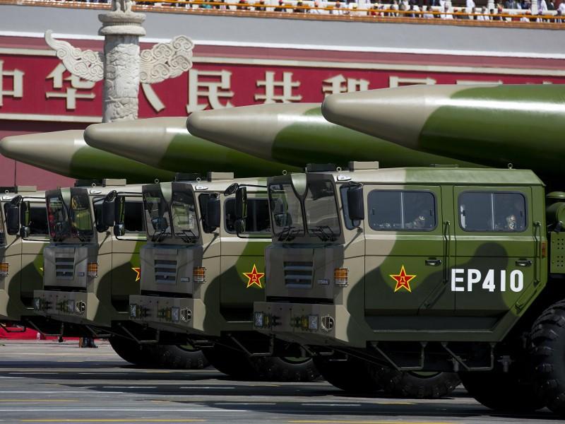 China construye nuevo campo de silos de misiles nucleares