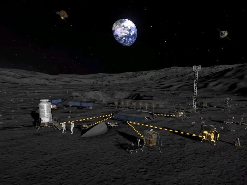 China y Rusia pretenden crear una estación científica lunar