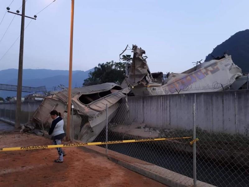 Chocan trenes en Río Blanco y Orizaba