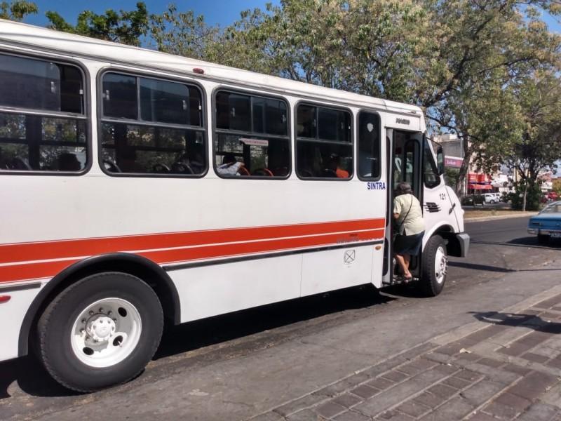 Choferes de rutas de transporte incumplen medidas sanitarias por Covid-19