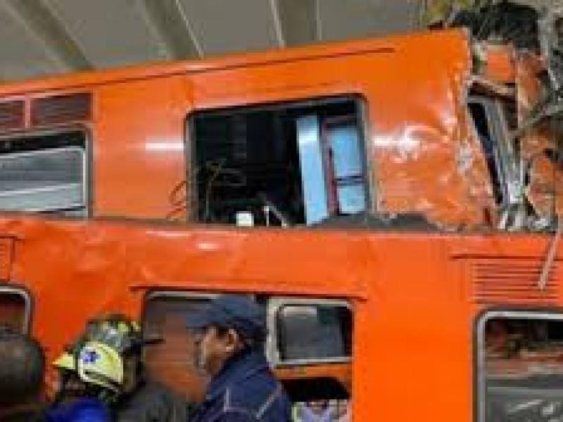 Choque de trenes en Metro Tacubaya, por error humano: Fiscalía