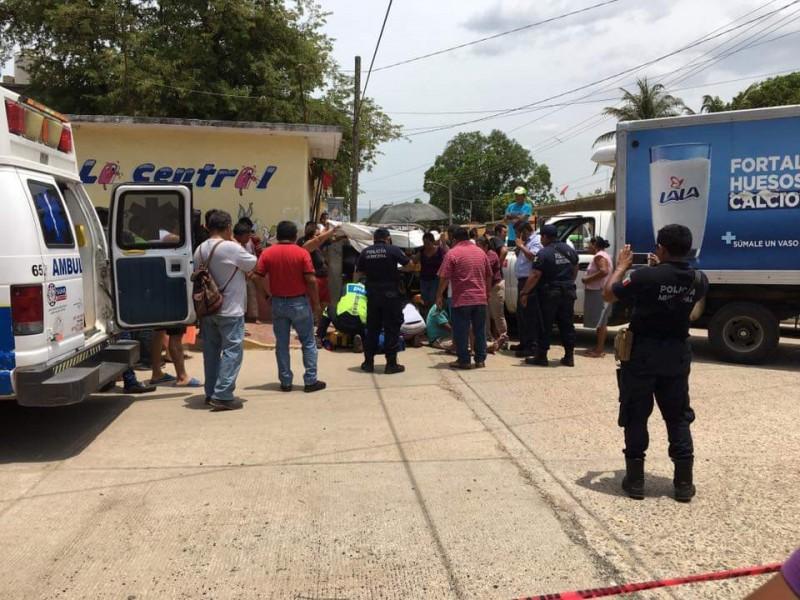 Choque deja un muerto en Tehuantepec