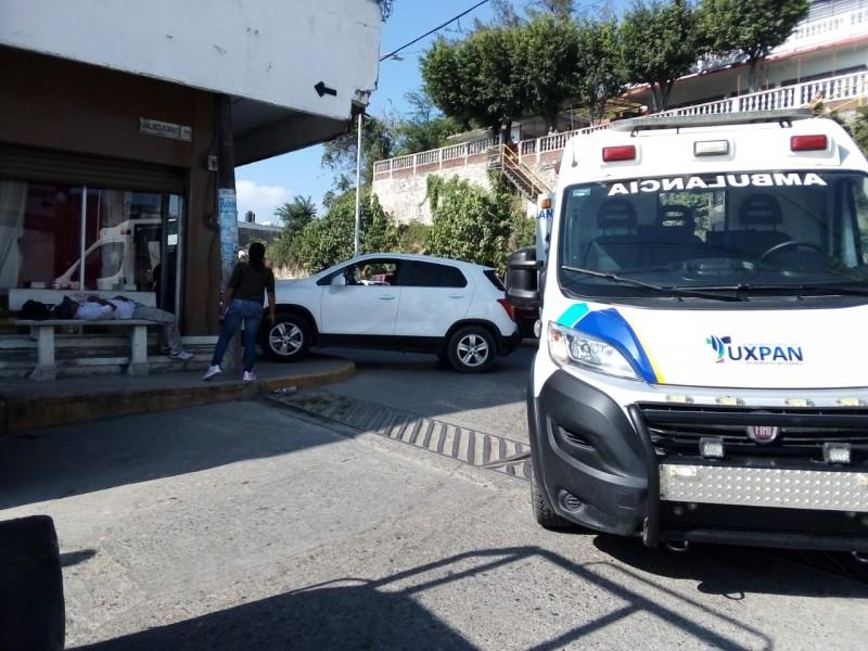Choque en la López Mateos deja un lesionado