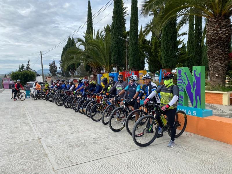 Ciclistas de montaña proponen embellecer ruta de las 3 cruces