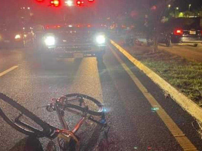 Ciclistas deben aumentar la precaución por lluvias