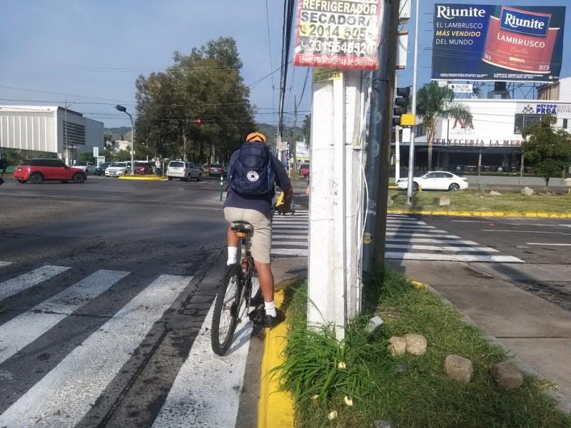 Ciclovía de Av. Guadalupe sigue con opiniones divididas
