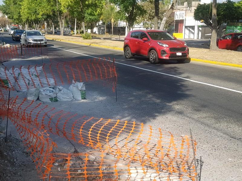 Ciclovia de Guadalupe avanza al 60%