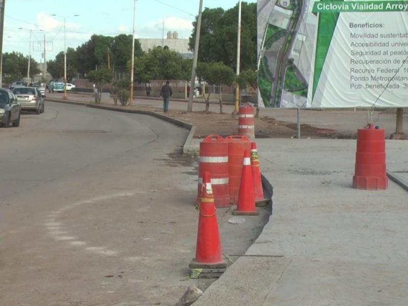 Ciclovía de Guadalupe estará lista en febrero: Seduvot