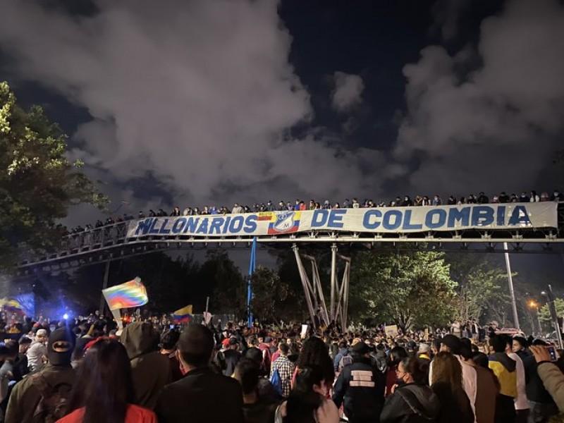 Cientos de desaparecidos durante las protestas en Colombia