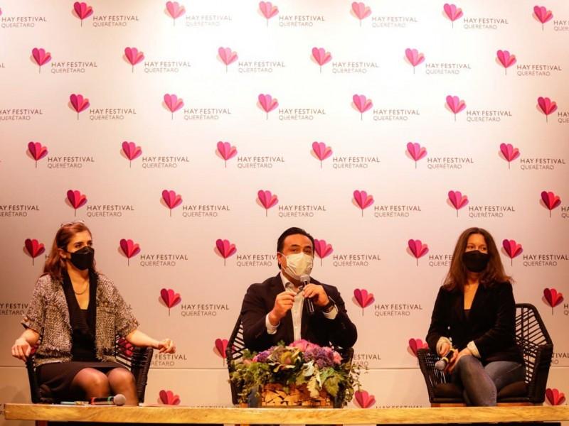 Cierra con éxito sexta edición del Hay Festival Querétaro