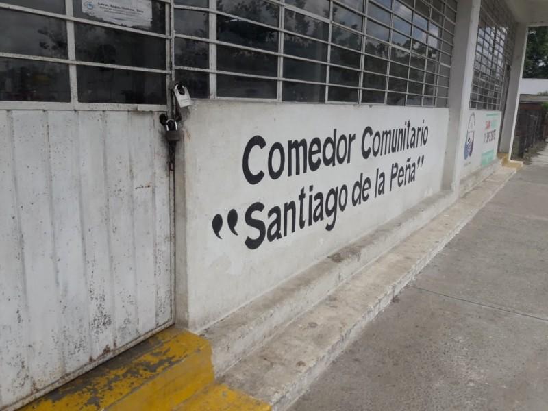 MEGANOTICIAS - Cierra puertas comedor comunitario Santiago de la Peña
