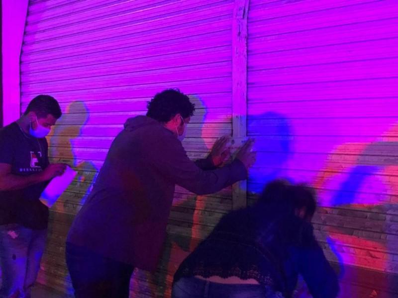 Cierra Secretaría de Seguridad comercios en Tepic y Santiago Ixcuintla