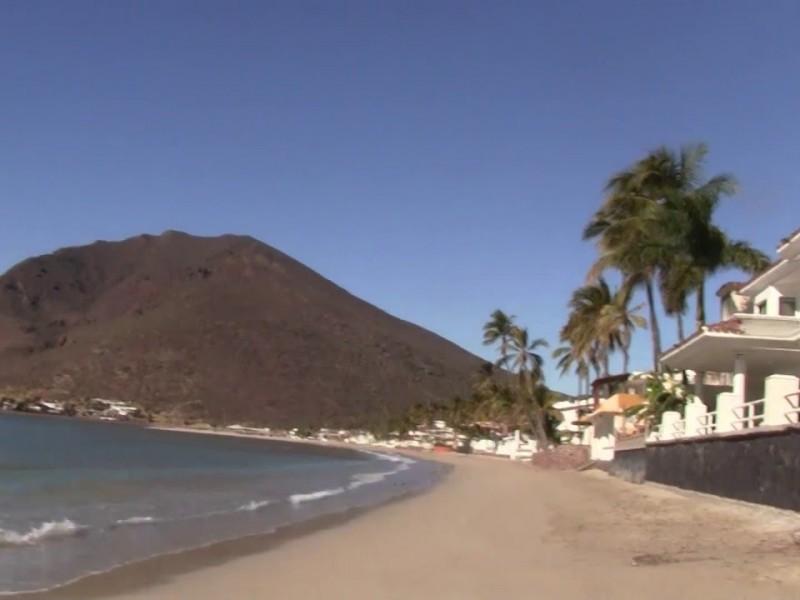 Cierran acceso a playas en Miramar y San Carlos