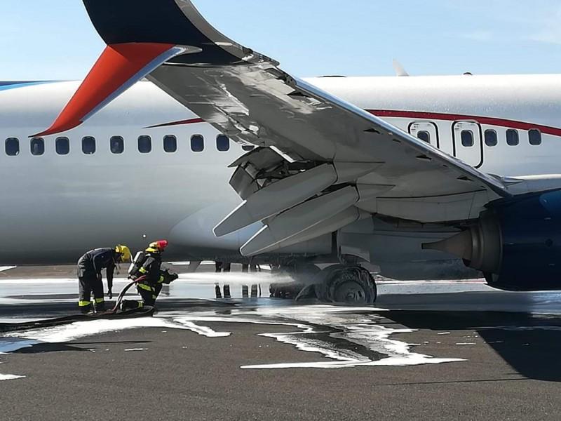 Cierran aeropuerto de Guadalajara por incidente en avión