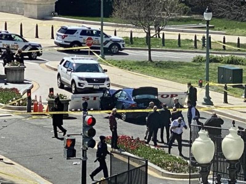 Cierran el Capitolio por amenaza de seguridad externa