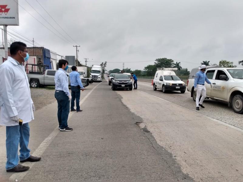 Cierran el paso a turistas en Tuxpan